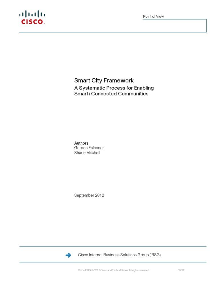 Smart City Framework | Sustainability | Leadership