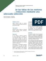 Prevención de las fallas de los motores