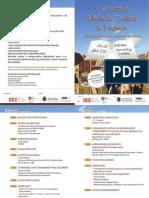 Folheto Encontro Bibliotecas Escolares 2013