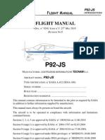 Tecnam P92 JTecnam-P92-JS-ManualS Manual