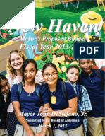 Fy 2014 Mayors Budget Website