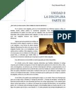 Unidad 8 La Disciplina(III Parte)
