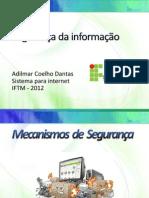 seguranadainformao-121106165127-phpapp01