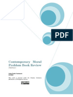 Contemporary Moral Problem Book Review