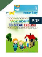 Let's Speaking English, Speaking 3, Human Body