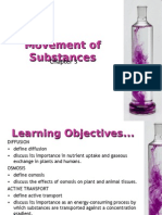 Pure Bio Chp 3 Movement of Substances PPT