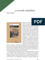 Juan Delval, Hacia Una Escuela Ciudadana,