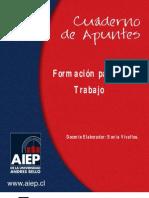 FORMACIÓN PARA EL TRABAJO - COM114 cuaderno de apuntes