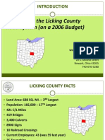 Managing the Licking County Road System