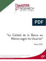 La calidad de la banca en Mexico segun los usuarios .pdf
