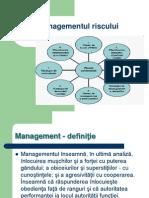 Managementul riscului