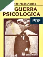 33136240 Fernando Frade Merino La Guerra Psicologica