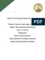 Unidad 1 Bases de Datos Distribuidas