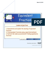 equivalent fractions lesson 1