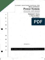 SOLUCIONARIO   SISTEMAS DE POTENCIA Analisis y Diseño Duncan Glover