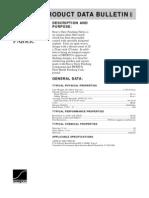 Product Data Bulletin