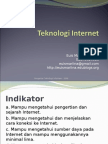 Materi 9 - Teknologi Internet