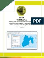 Tutorial  para hacer consultas de la información espacial y de atributos en  el Sistema de Información Geográfica ArcGis 10.