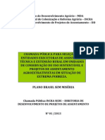 Chamada Pública ATER Extrativista - Nº 01-2013