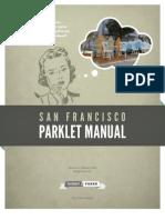 San Francisco Parklet Manual