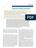 6. Updated Clinical Classification of Pulmonary Hypertension