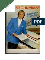 Richard Clayderman - 40 Partitions Inoubliables