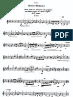 Variacion en Cuerda Sol-Mose-Fantasia - PAGANINI