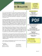 HS Friday Bulletin 03.06.09