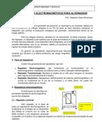 REGULADORES ELECTROMAGNÉTICOS PARA ALTERNADOR