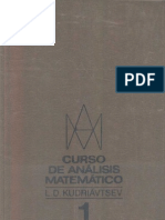 Analisis Matematico Curso i Mir