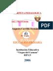 Carpeta Pedagogica Carrillo
