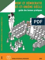 PARLEMENT ET DÉMOCRATIE  AU VINGT-ET-UNIÈME SIÈCLE - guide des bonnes pratiques