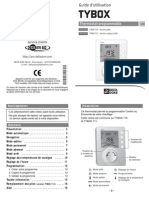 Guide d'utlisation thermostat Tybox 710