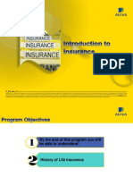 Introduction to Life Insurance Industry v 2.0 Jan 11
