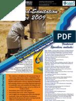 Water Sanitation Conferece 2009 Brochure