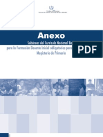 Curriculum Nacional Base - Anexo