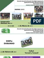 Roles DGETA Durango