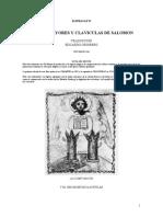 Levi Eliphas - Claves Mayores y Claviculas