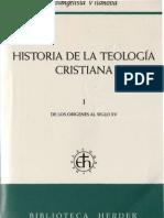 Vilanova, E. Historia de La Teologia Cristiana (1)