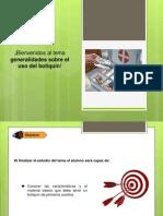 Generalidades Del Uso Del Botiquin