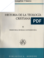 Vilanova, E. Historia de La Teologia Cristiana (2)
