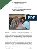 Nota de Prensa N6 2013