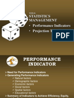 Statistics Management