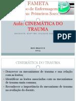 cinemática do trauma