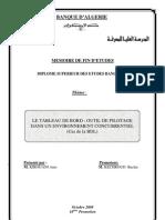 Tableau de Bord Cas BDL