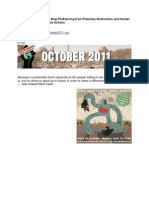 October2011.Org News- Stop Profiteering From Planetary Destruction and Human Suffering