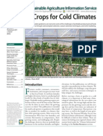 Cold Climate Crops
