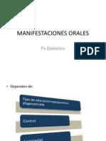 MANIFESTACIONES ORALES