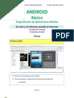 Android Basico Syllabus