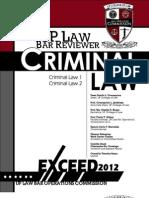 Criminal Law Barops 2012